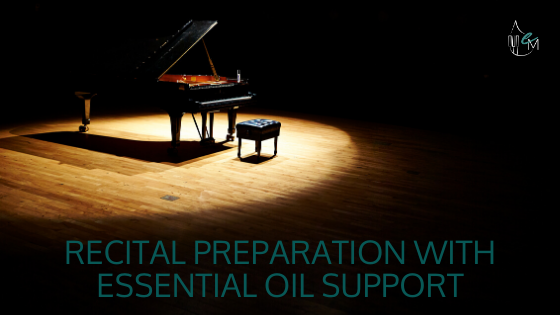 Essential Oils for Practicing Music