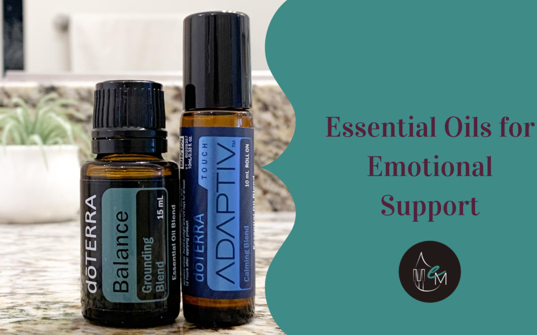Overwhelm and Anxiety: my three favourite essential oils for emotional support